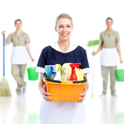 Cleaning Service Crew