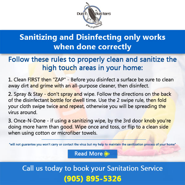 Dust Busters Sanitizing And Disinfecting Popup2