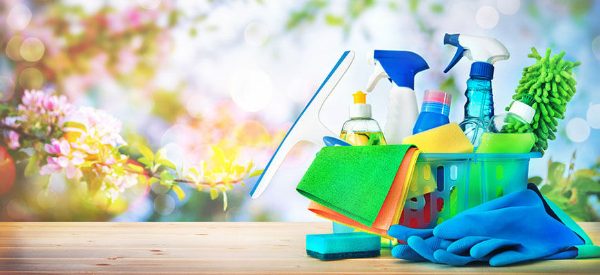 Get Spring Ready With a Deep Cleaning and Home Sanitization